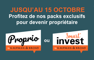 Packs Proprio & Smart'invest - Septembre 2020 | Kaufman & Broad
