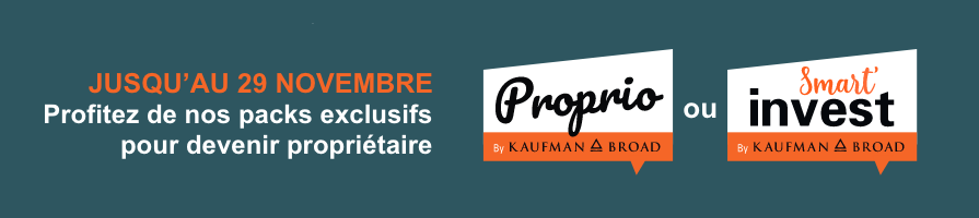 Packs Proprio & Smart'invest - Novembre 2020 | Kaufman & Broad