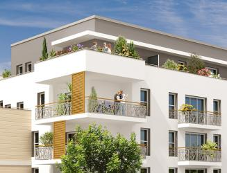 programme immobilier neuf le jardin dheloise -  Kaufman & Broad