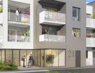 programme immobilier neuf cote roazhon -  Kaufman & Broad
