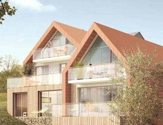 programme immobilier neuf Les Chalets -  Kaufman & Broad